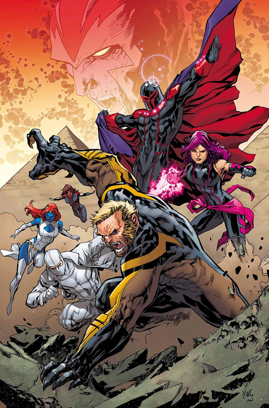 Uncanny X-Men #6, variant cover di Ken Lashley