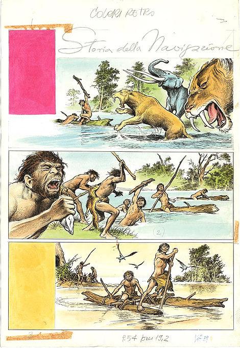 La Storia della Navigazione, stampa 01