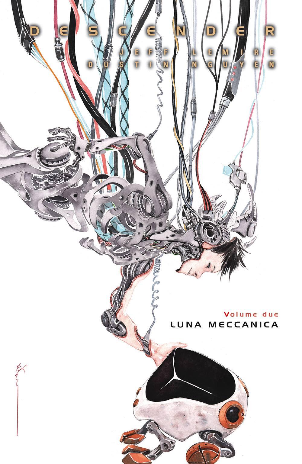 Descender vol. 2: Luna meccanica, copertina di Dustin Nguyen