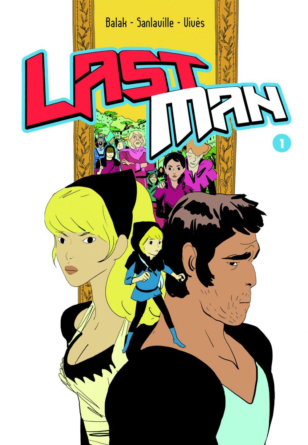 Last Man 1, copertina di Balak