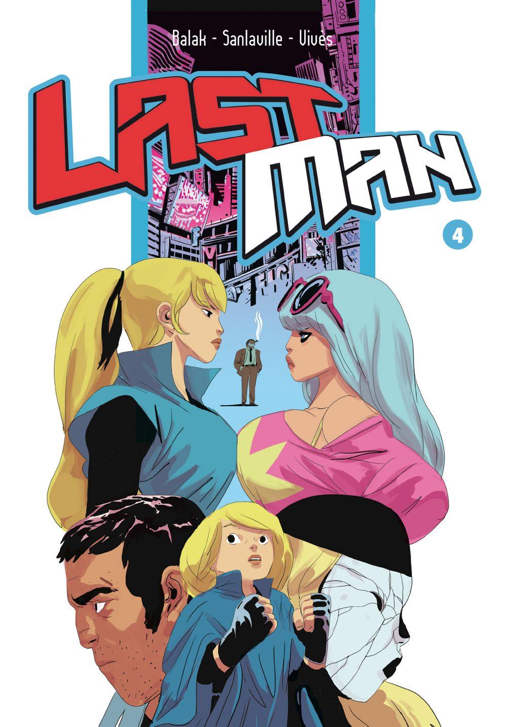 Last Man 4, copertina di Balak
