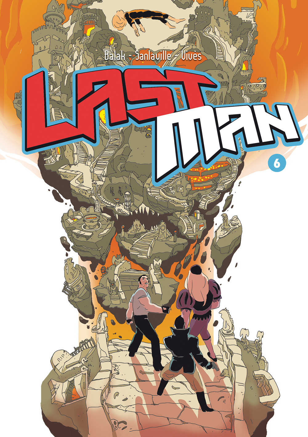 Last Man 6, copertina di Balak