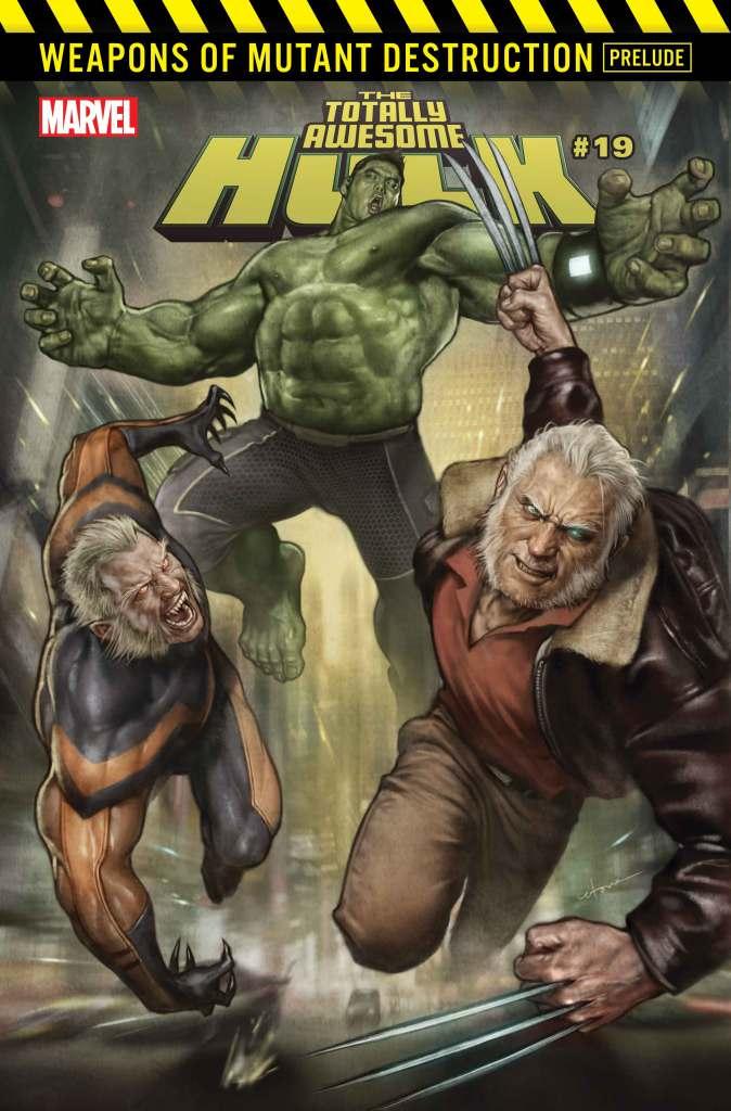 The Totally Awesome Hulk #19, copertina di Stonehouse
