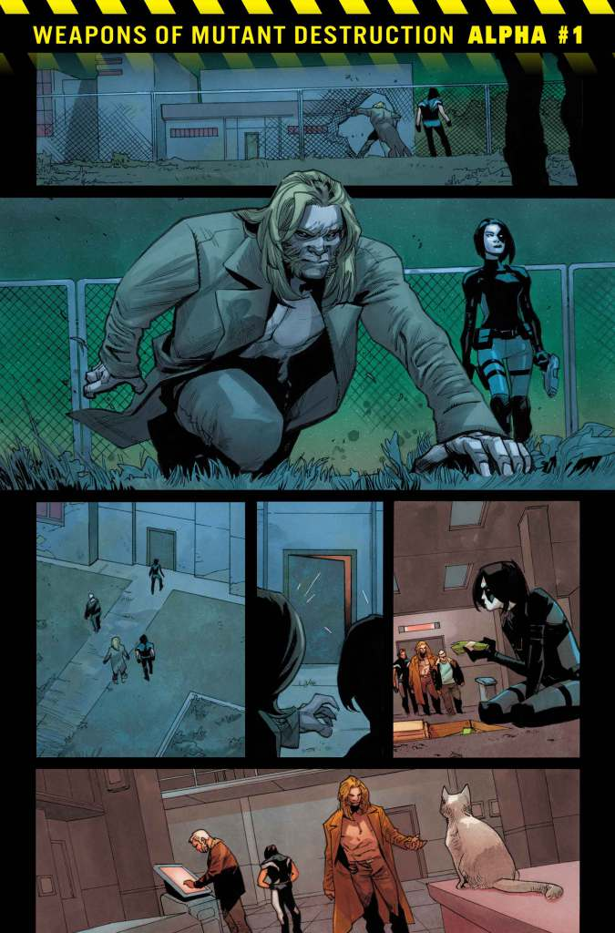 Weapons of Mutant Destruction Alpha #1, anteprima 01