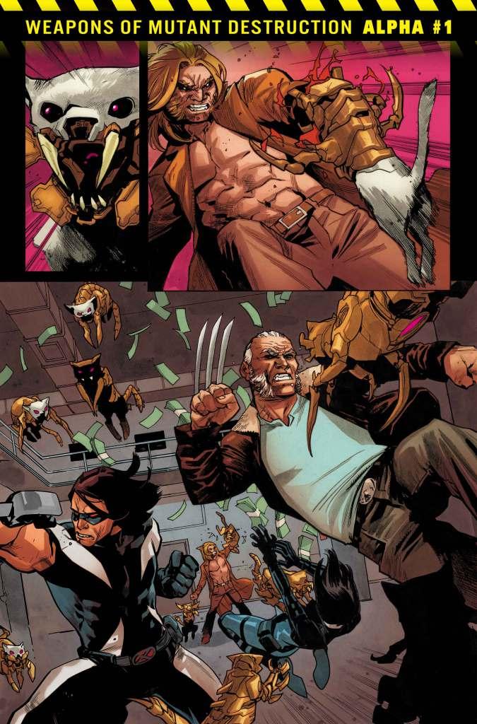 Weapons of Mutant Destruction Alpha #1, anteprima 02