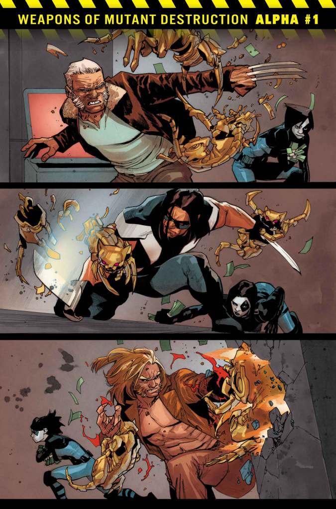 Weapons of Mutant Destruction Alpha #1, anteprima 03