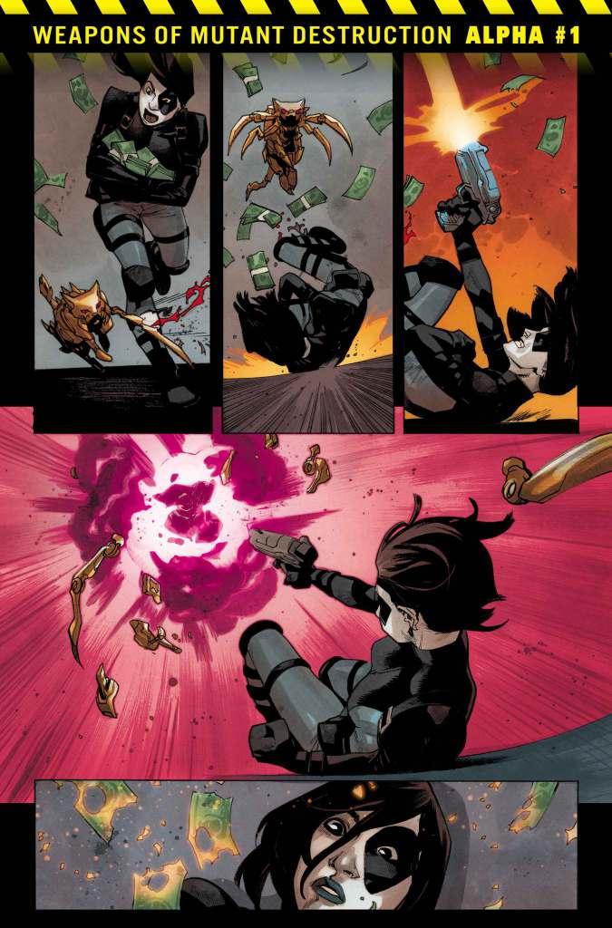Weapons of Mutant Destruction Alpha #1, anteprima 04