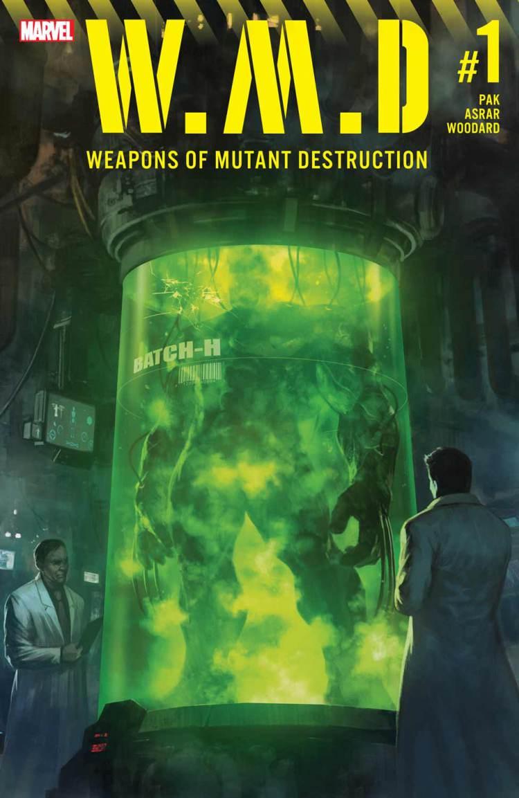 Weapons of Mutant Destruction Alpha #1, copertina di Skan