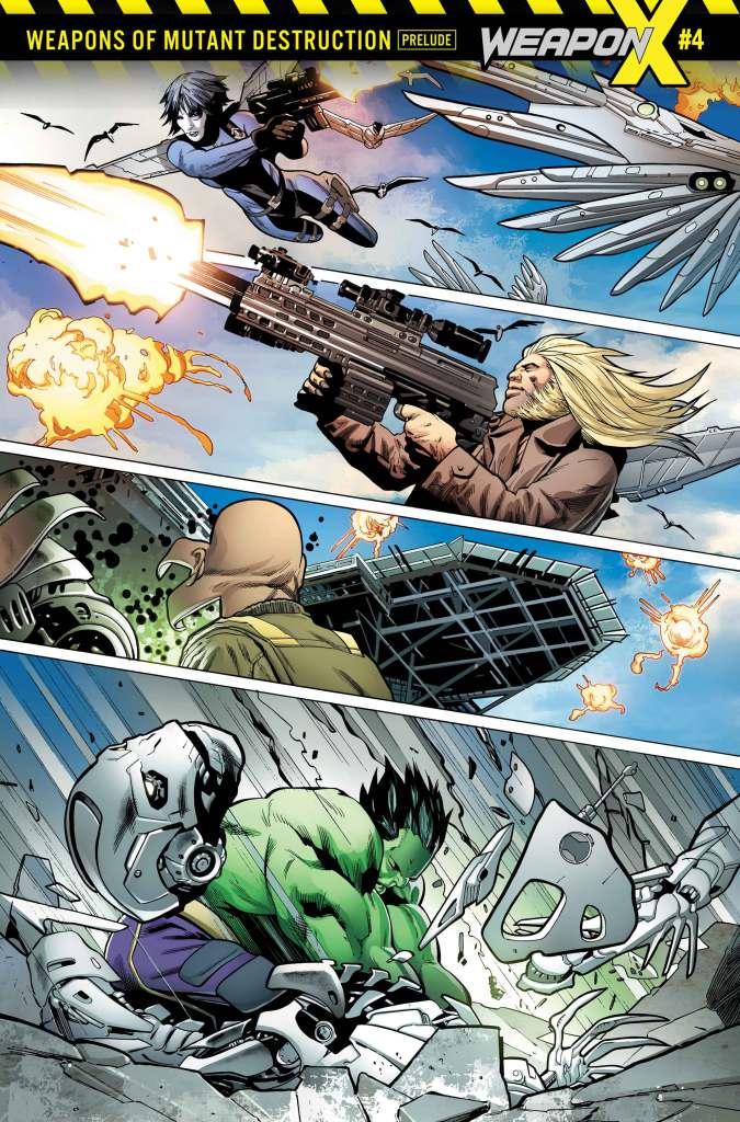 Weapon X #1, anteprima 03