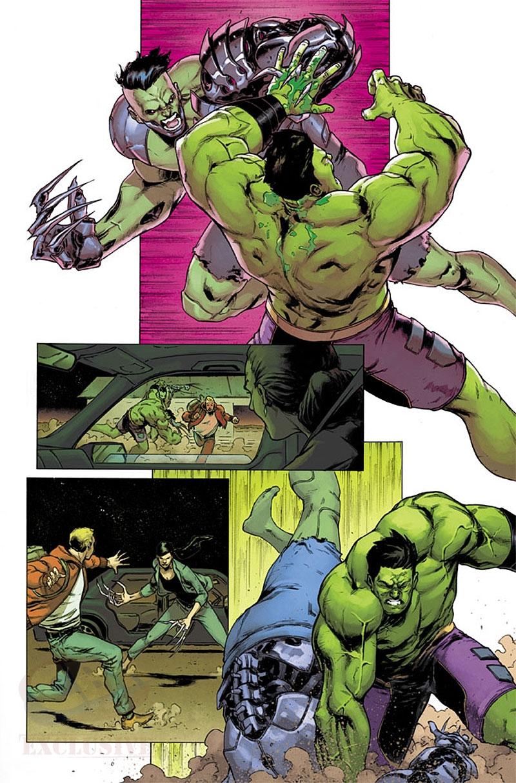 Totally Awesome Hulk #20, anteprima 01