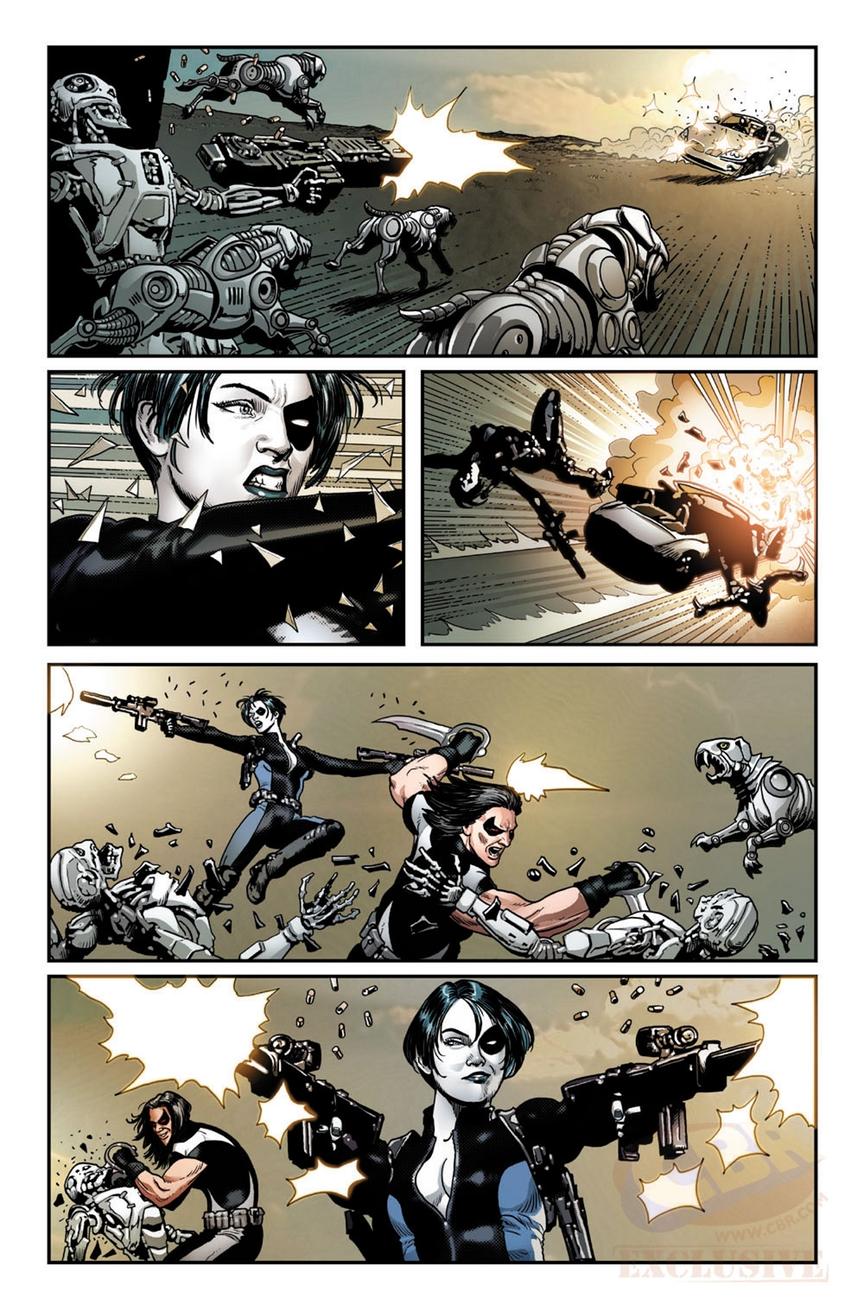 Weapon X #5, anteprima 01