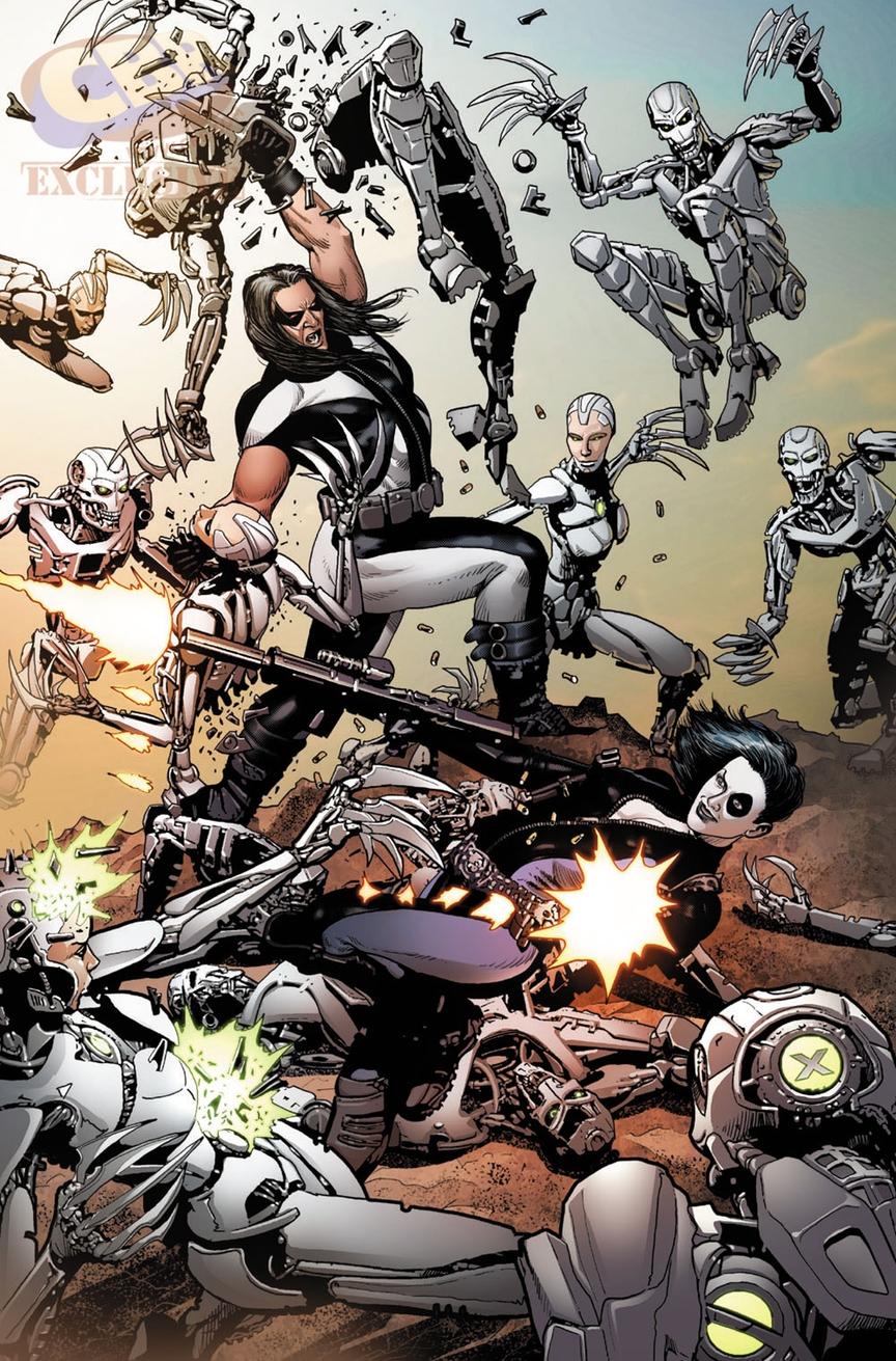 Weapon X #5, anteprima 02