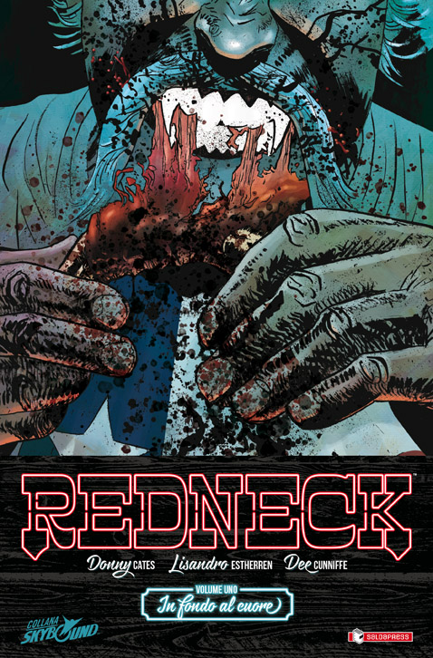 Redneck vol. 1: In fondo al cuore, copertina di Lisandro Estherren