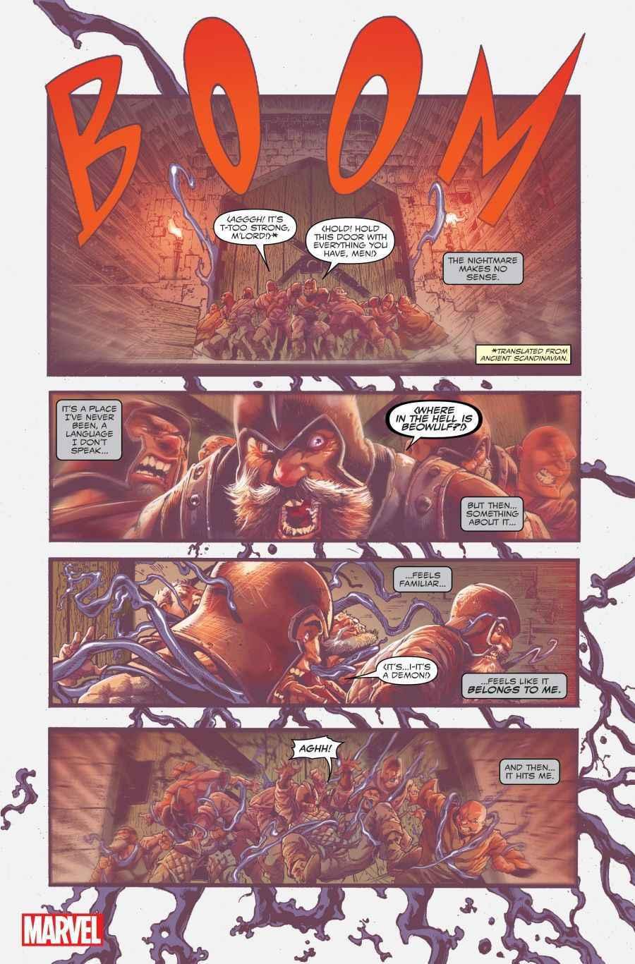 Venom #1, anteprima 01