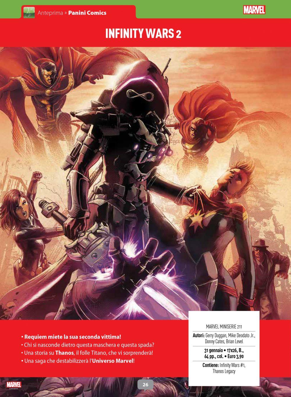 Infinity Wars su Anteprima 2