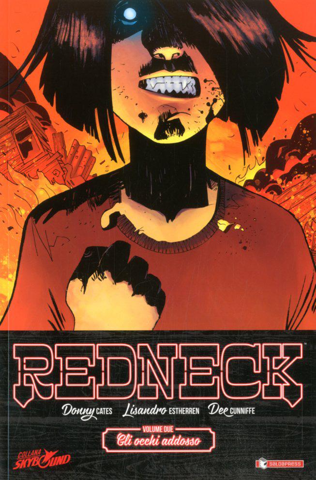 Redneck vol. 2: Gli occhi addosso, copertina di Lisandro Estherren