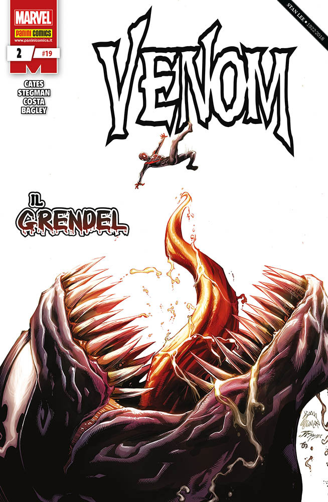 Venom 2, copertina di Ryan Stegman