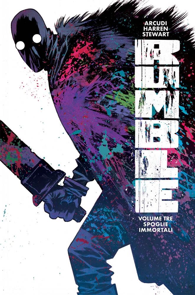 Rumble vol. 3: Spoglie immortali, copertina di James Harren