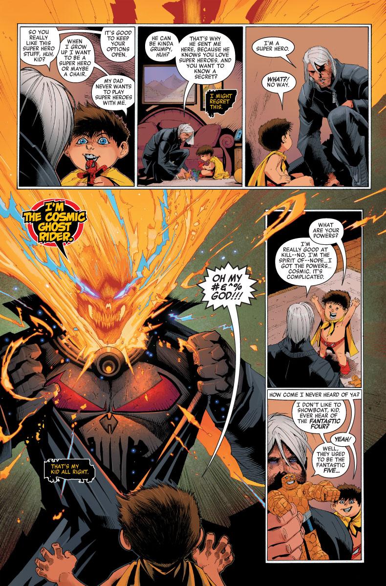 Cosmic Ghost Rider Destroys Marvel History #1, anteprima 05