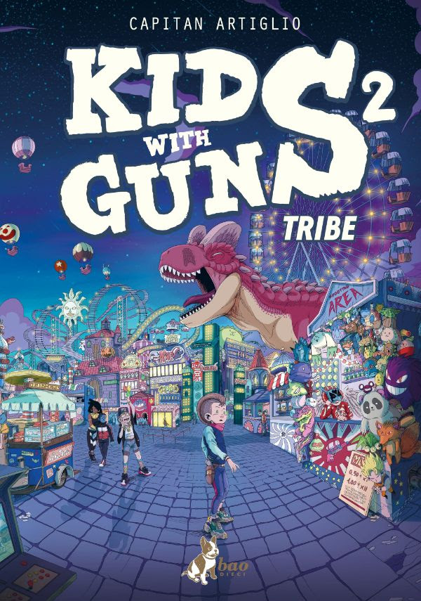 Kids With Guns vol. 2: Tribe, copertina di Capitan Artiglio