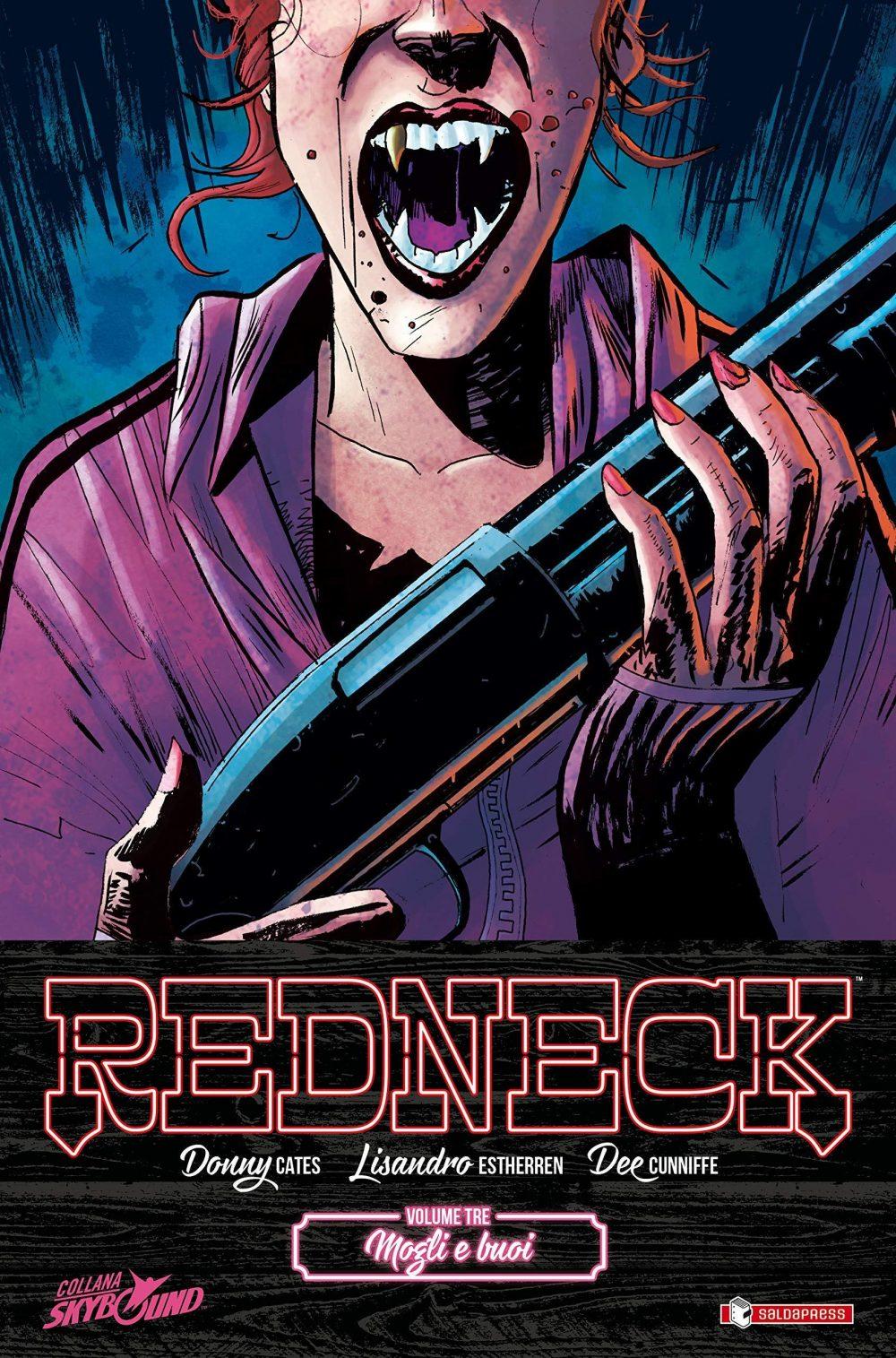 Redneck vol. 3: Mogli e buoi, copertina di Lisandro Estherren