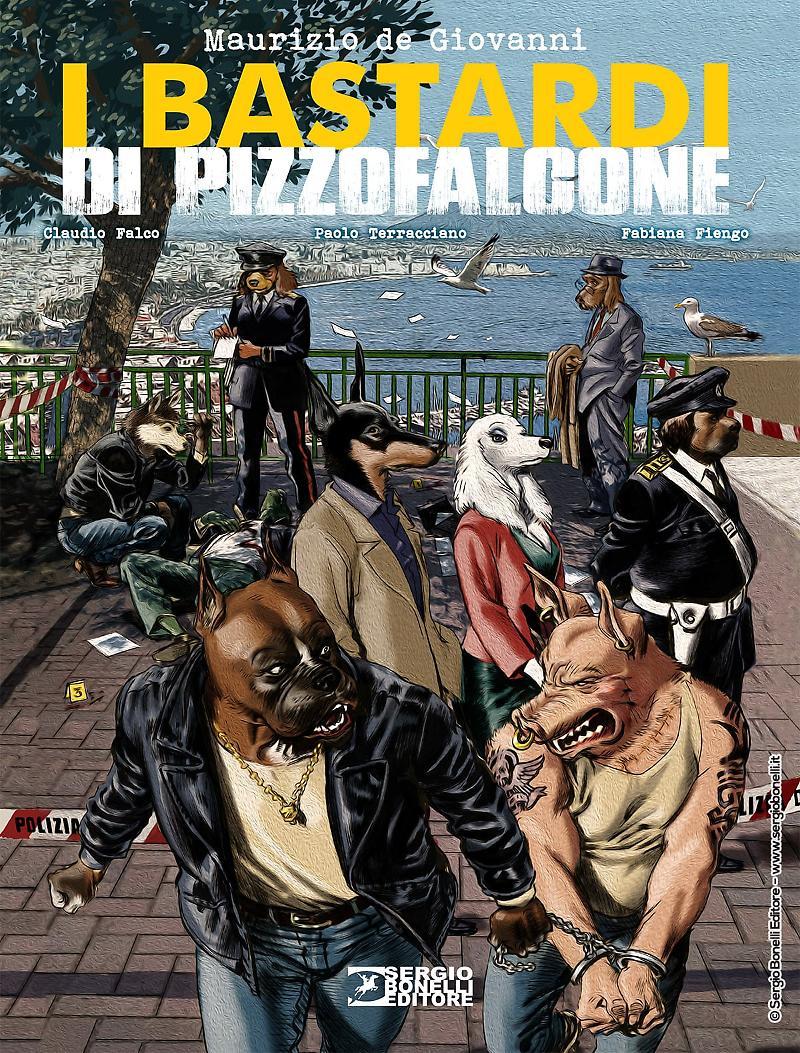 I bastardi di Pizzofalcone, copertina di Daniele Bigliardo