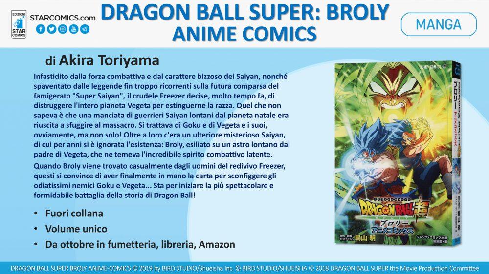 Dragon Ball Super: Broly Anime Comics