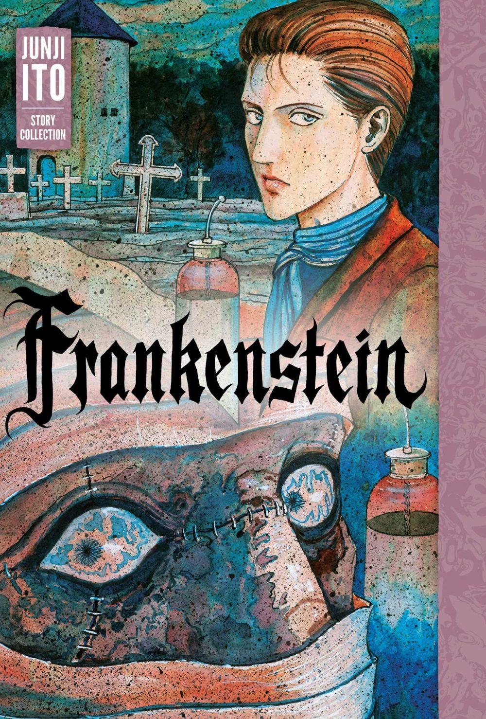 Frankenstein: Junji Ito Story Collection, copertina