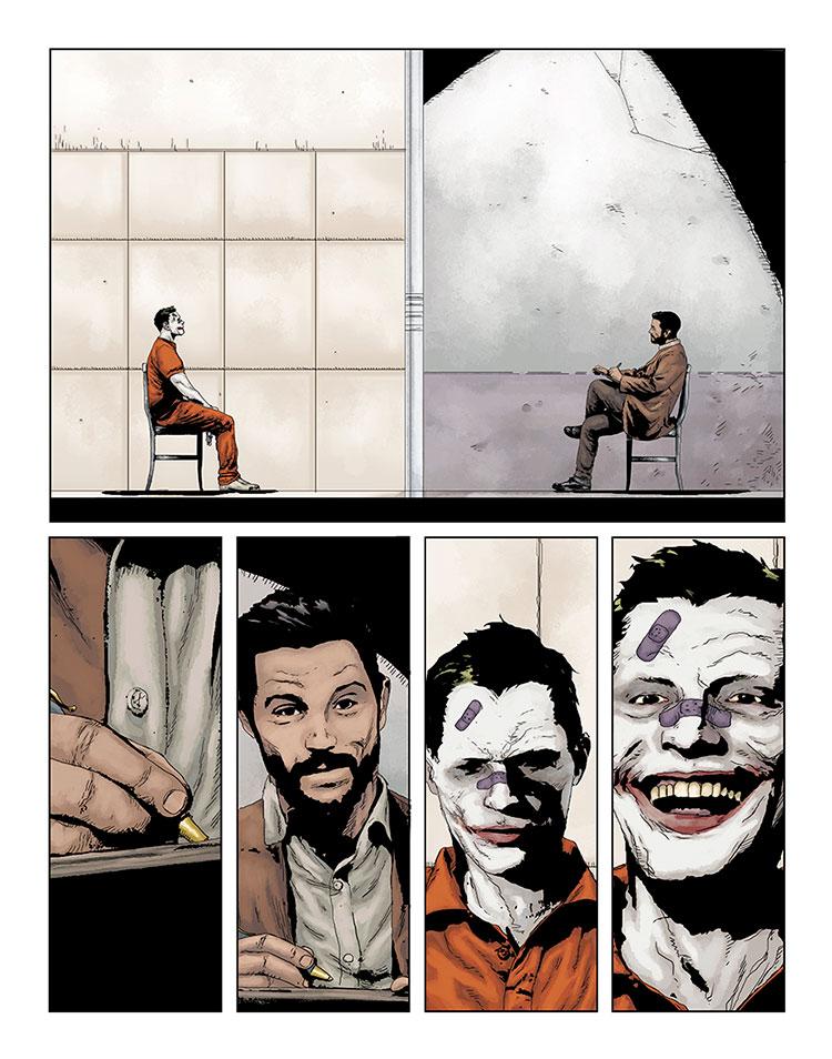 Joker: Killer Smile #1, anteprima 01