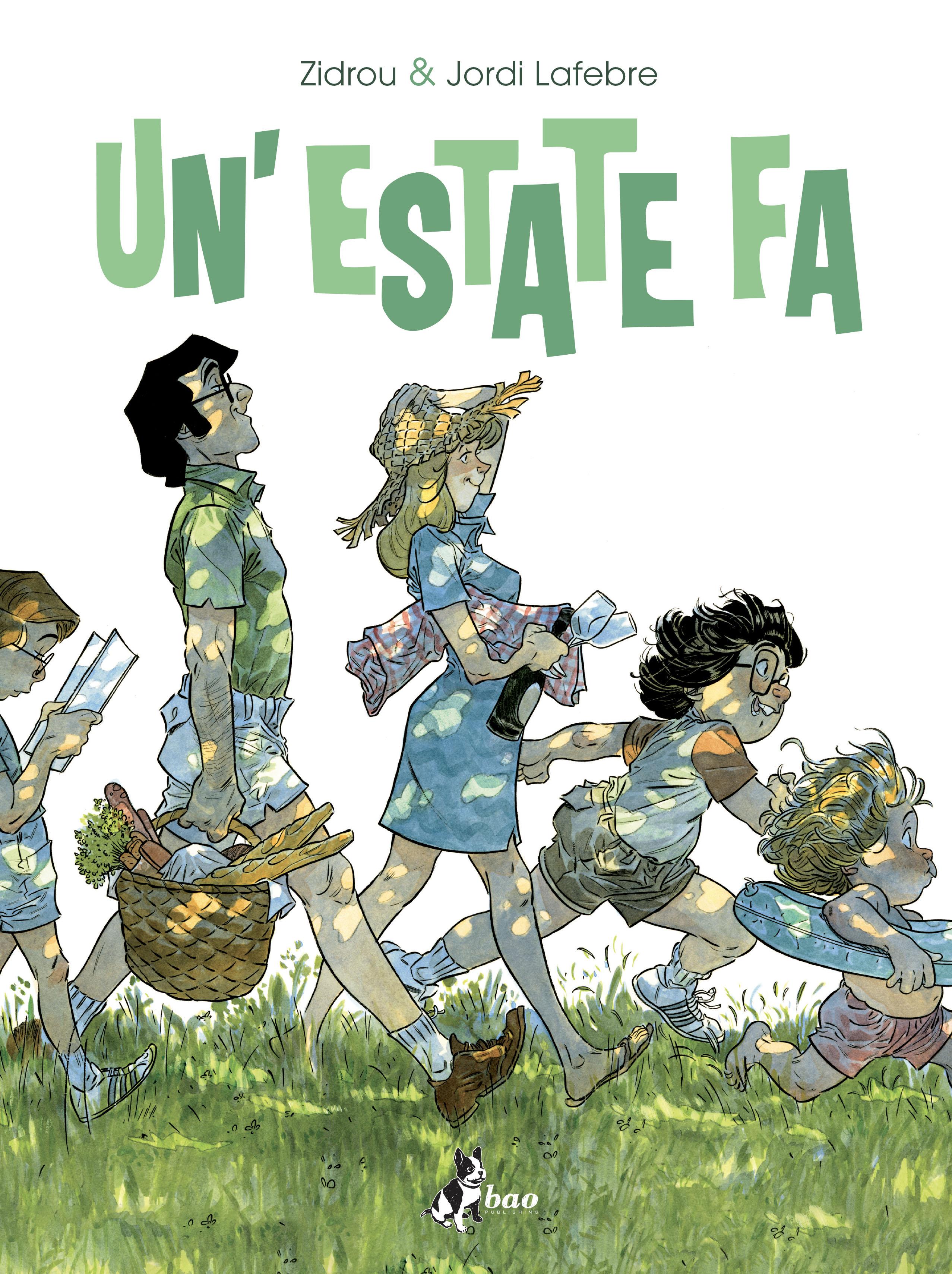Un'estate fa, copertina di Jordi Lafebre