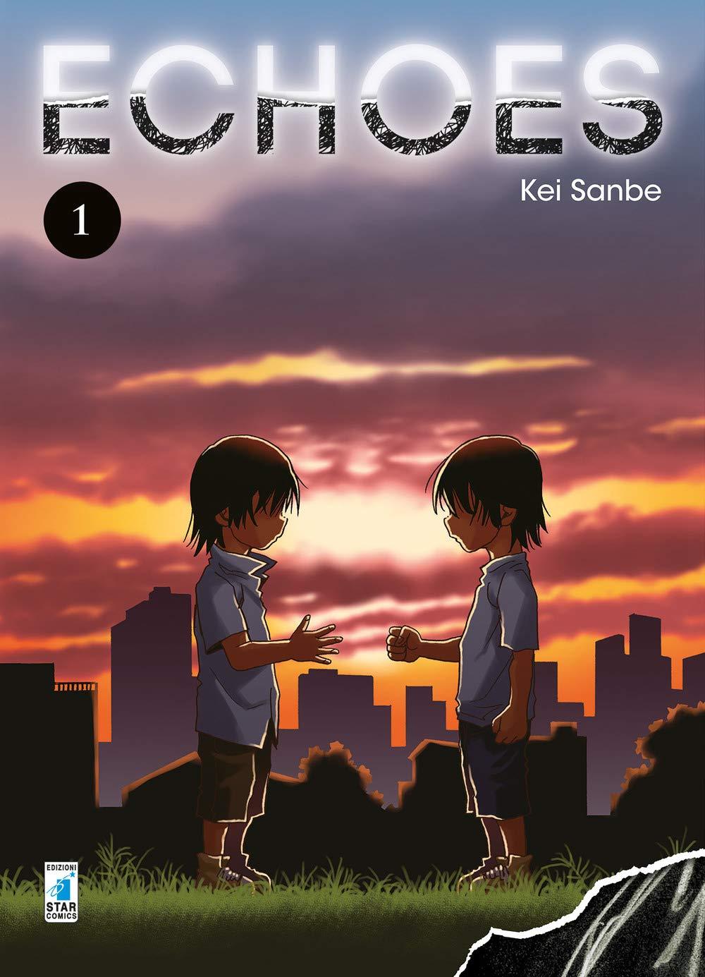 Echoes 1, copertina di Kei Sanbe