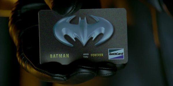 Batman carta di credito