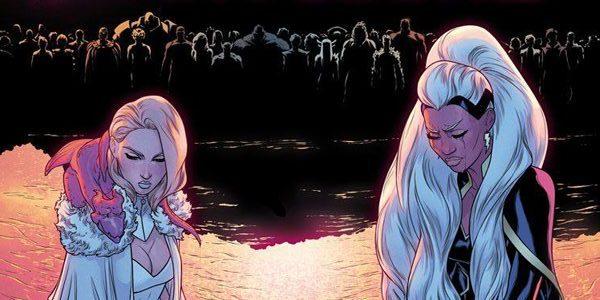 Emma Frost e Tempesta
