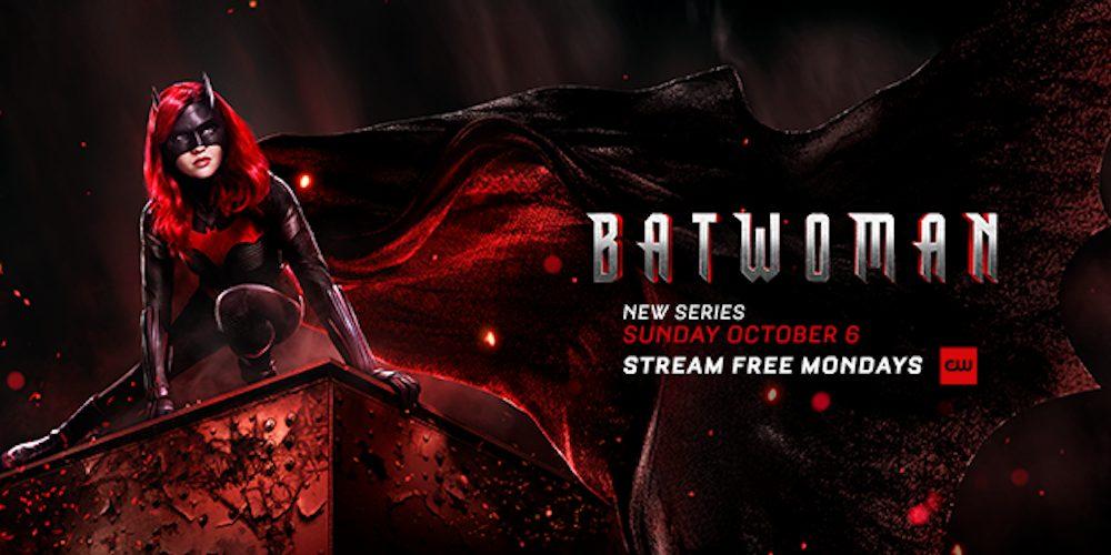 Batwoman artwork ufficiale Ruby Rose The CW ascolti