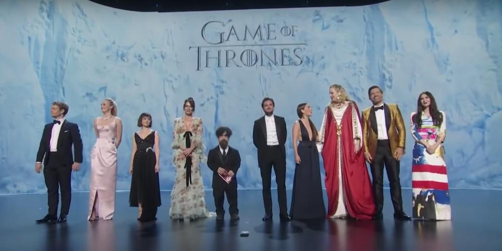 Emmy 71 - Cast GoT - ascolti in calo