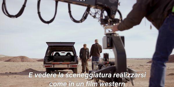 El Camino Netflix dietro le quinte breaking bad
