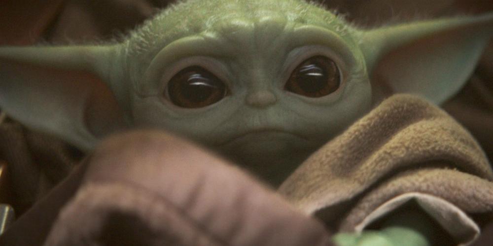 Baby Yoda banner