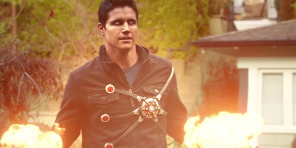The Flash Robbie Amell banner