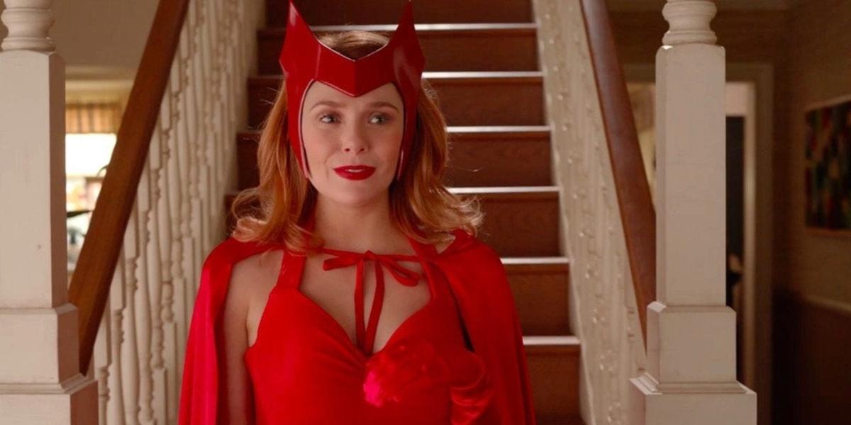 WandaVision elizabeth olsen è scarlet witch