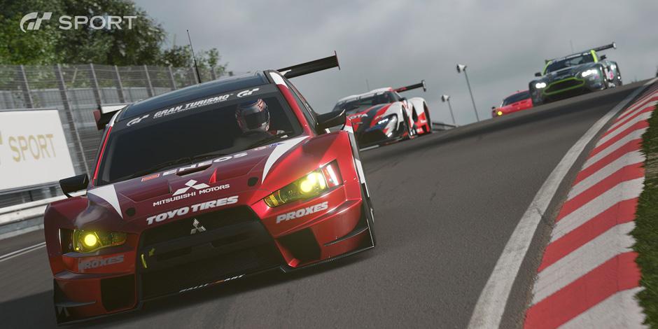 Gran Turismo Sport megaslide