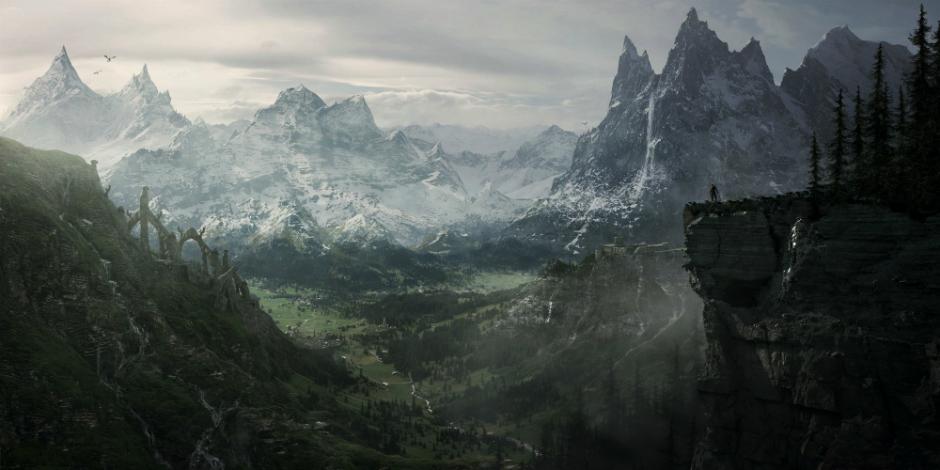 The Elder Scrolls V: Skyrim megaslide
