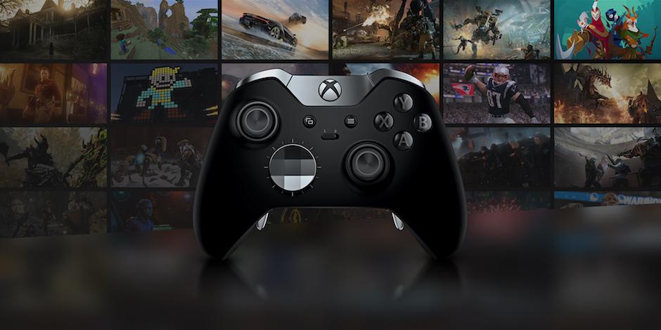 Xbox One X megaslide