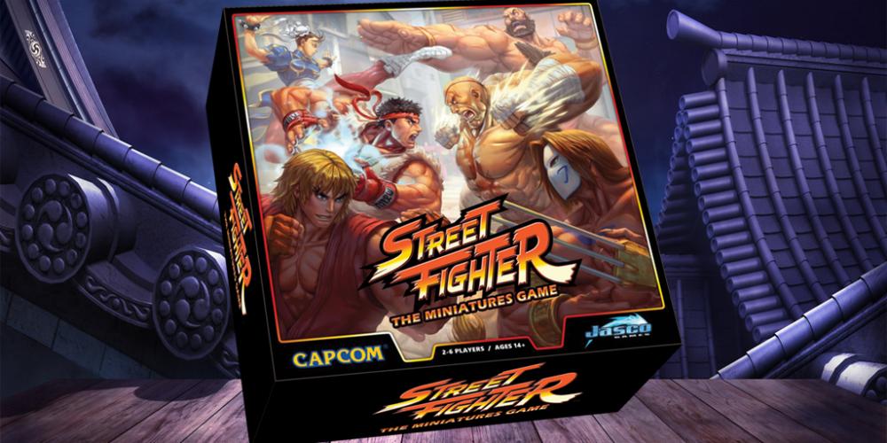 Street Fighter: The Miniatures Game banner megaslide