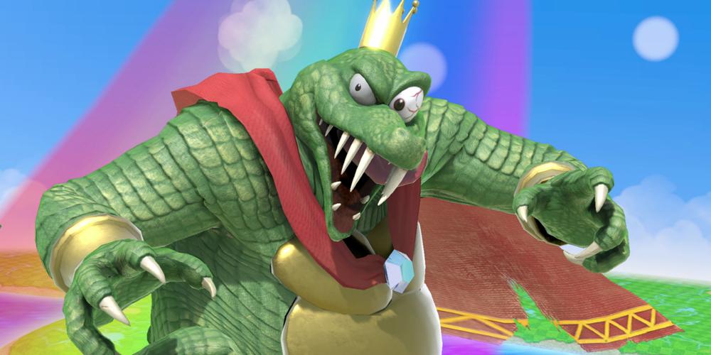 Super Smash Bros. King K. Rool megaslide