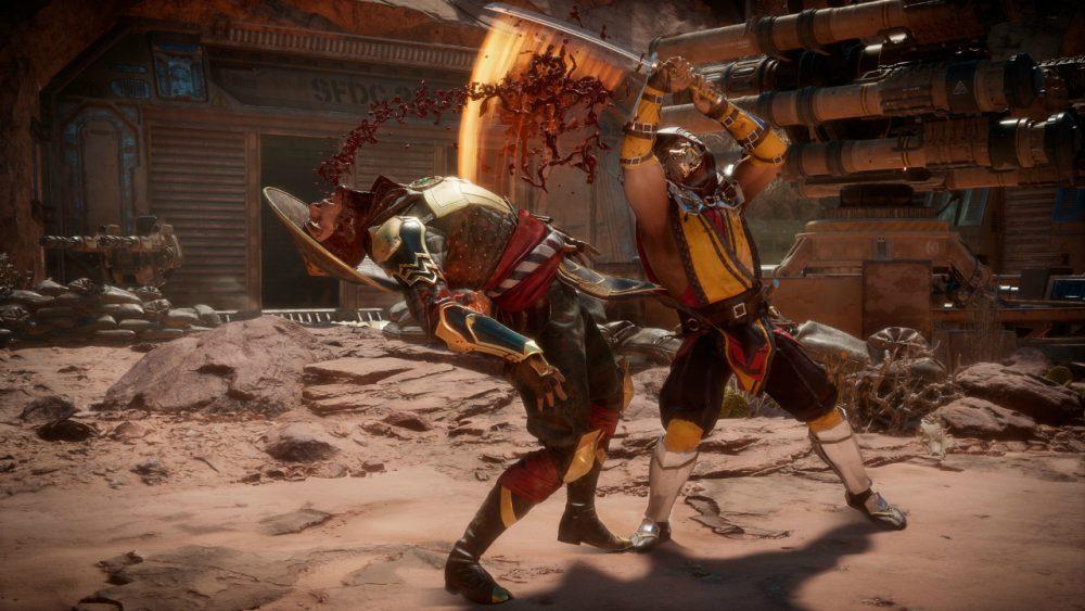 Mortal Kombat 11 banner scheda