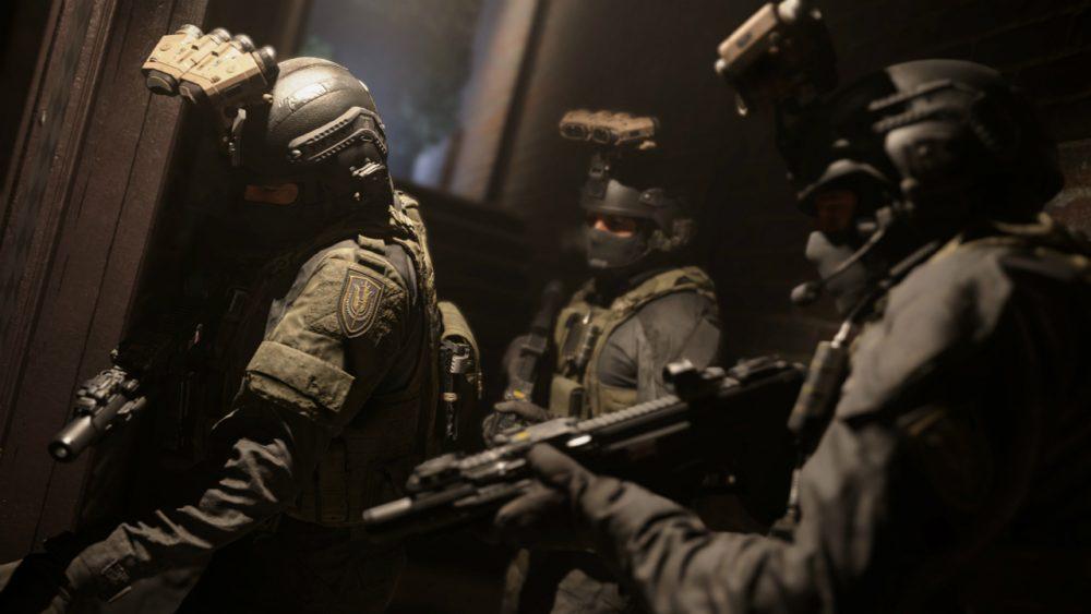 Call of Duty: Modern Warfare banner scheda