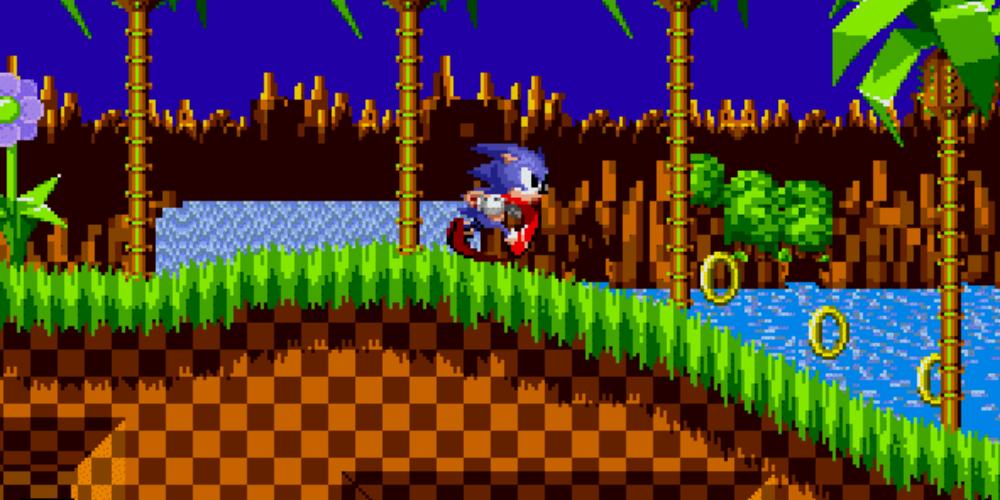 Sonic the Hedgehog banner