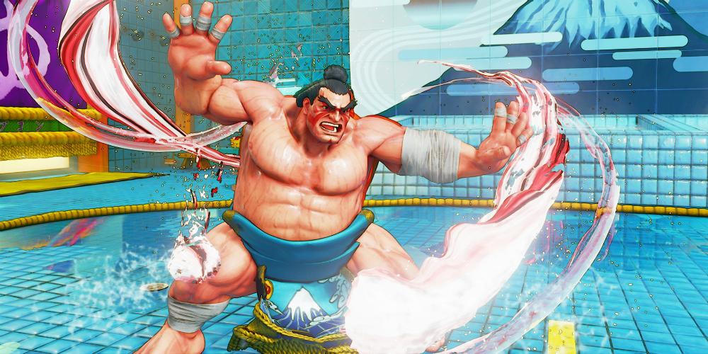 Street Fighter V: Arcade Edition E. Honda banner