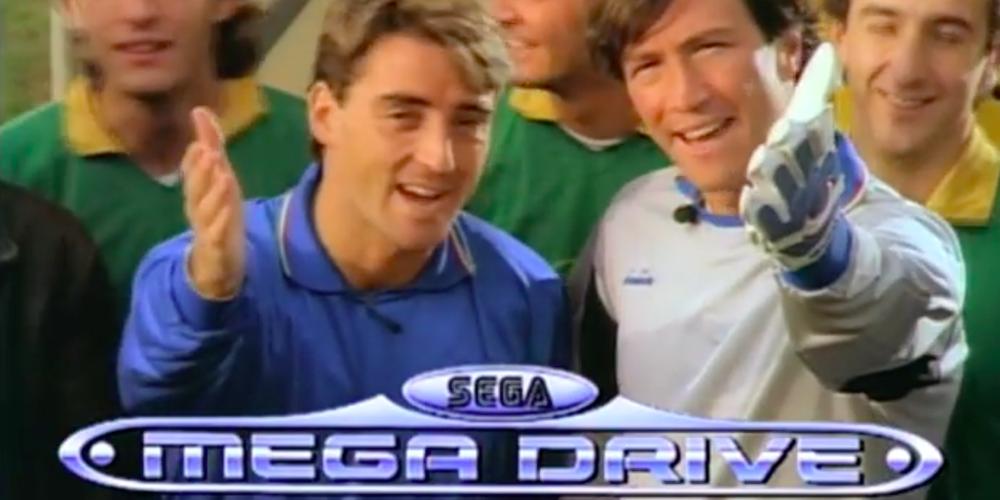 SEGA Mega Drive mini banner