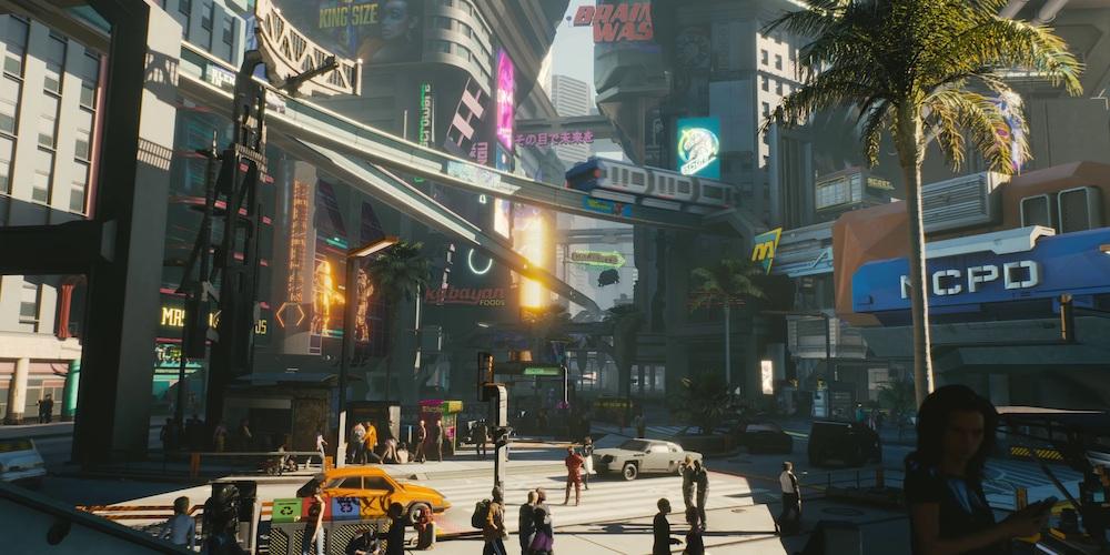cyberpunk 2077 mappa